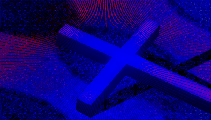 Križ, Digitalna slika: Tanja Jerebic