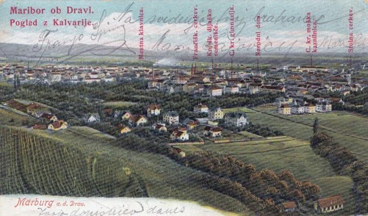 iz Kalv, Maribor