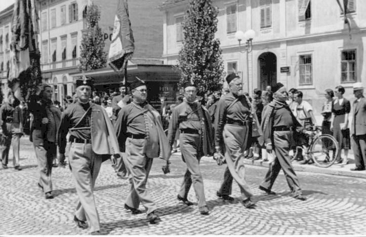 povorka sokolov 1937