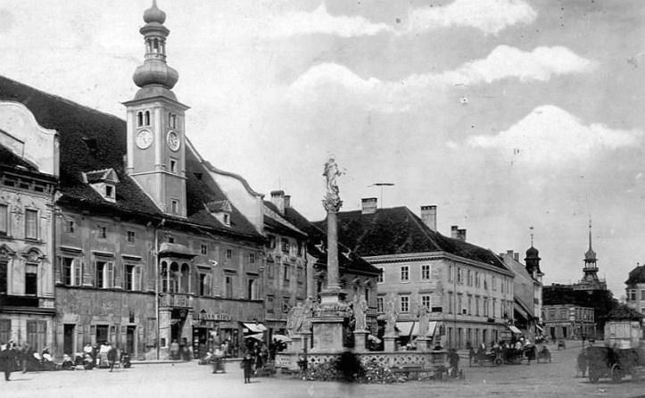 na glavnem trgu pred 1941