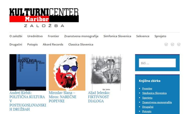 spletna stran KC Maribor