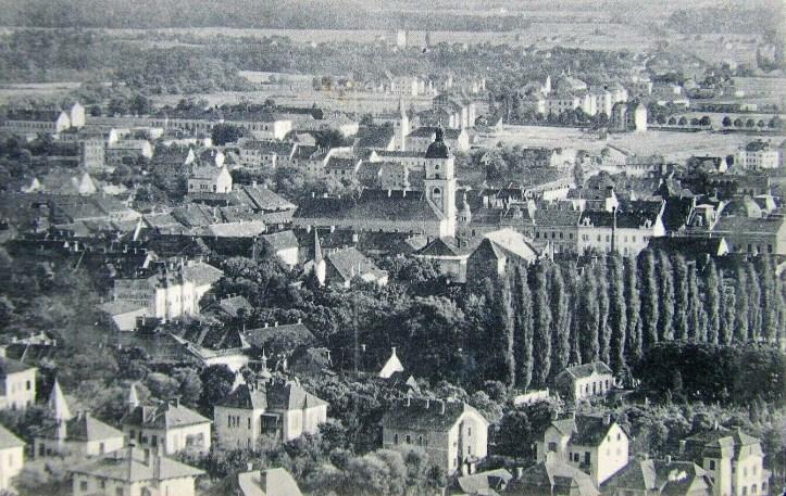 cerkev iz zraka 1920