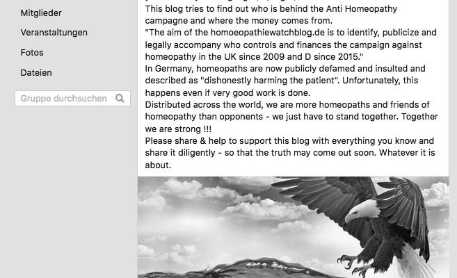 Aufruf für Homöopathie von Carola Scheuren