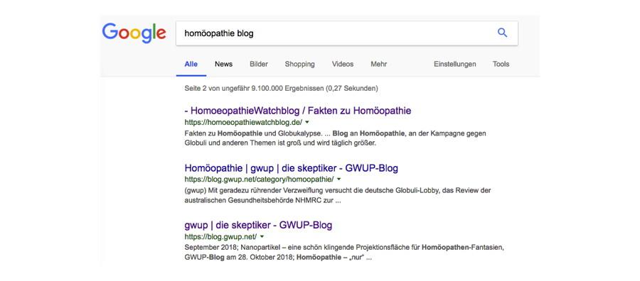 google-homoeopathie