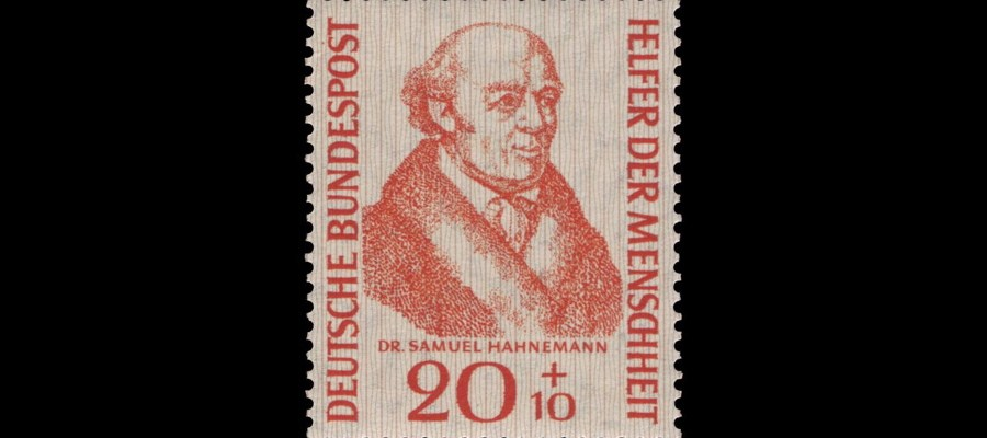 hahnemann briefmarke
