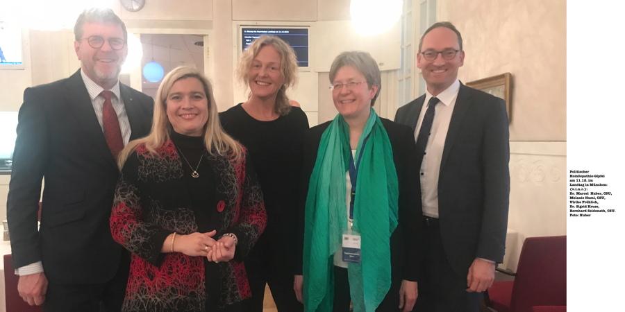 Politischer Homöopathie-Gipfel in München: CSU-Regierung beriet sich mit Ärztinnen für Homöopathie der Hahnemann-Gesellschaft