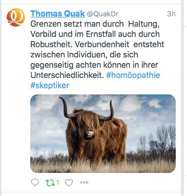 So läuft die Diskussion über ZDF Zoom Beitrag zu Homöopathie: Beispiele von Einzelnen und Verbänden auf Twitter