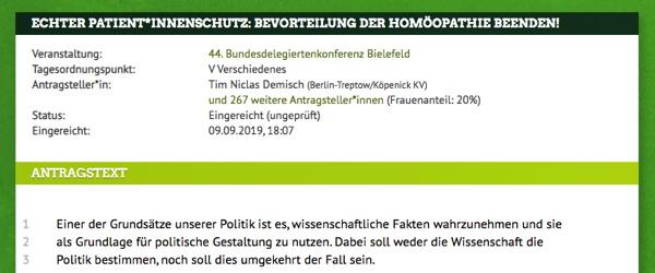 homoeopathie gruene