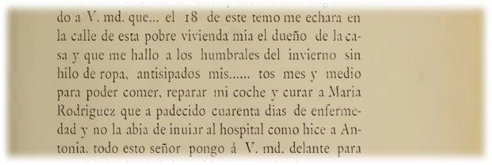 Carta de Góngora a Cristobal Heredia 4 noviembre de 1625