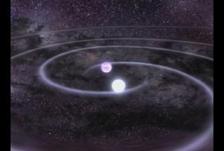 Gravitational Waves, photo courtesy of NASA
