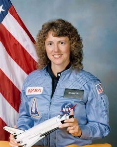 Christa McAuliffe. Πηγή: NASA (PD) μέσω Wikimedia Commons