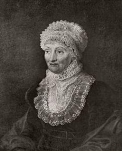 Πορτραίτο της Caroline Herschel. Πηγή: M. F. Tielemanm (1829)