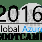 Global Azure Bootcamp 2016