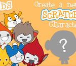 Create a new Scratch Character logo