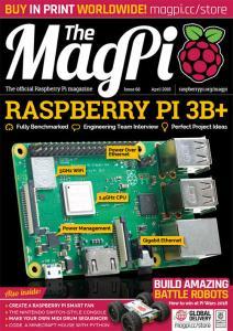 MagPi 68 - Τεύχος Απριλίου 2018