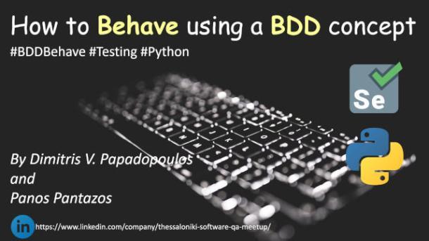 Behavior-Driven Development Testing for Python