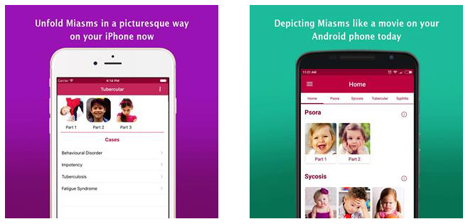 Meet the miasms live with Miasms App: A pivotal key to