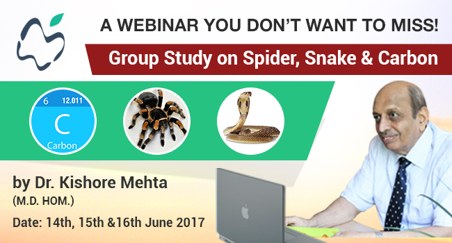 group=study on snakes spiders carbons