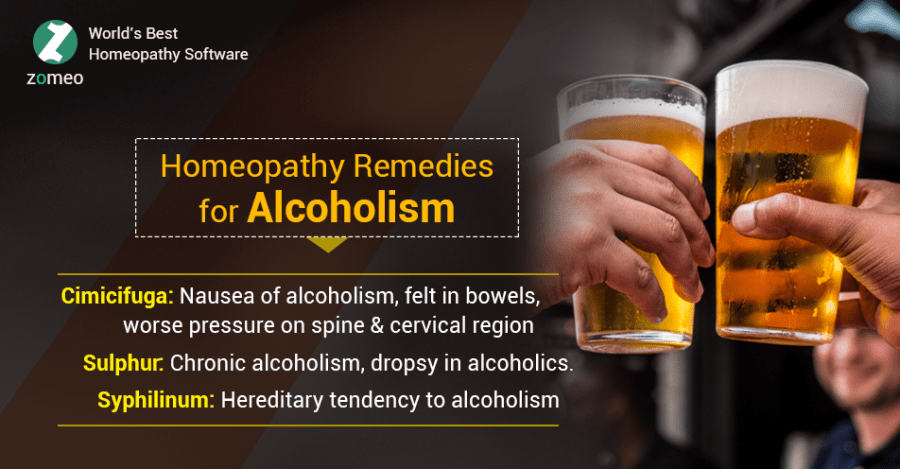 Homeopathy Remedies for Alcoholism