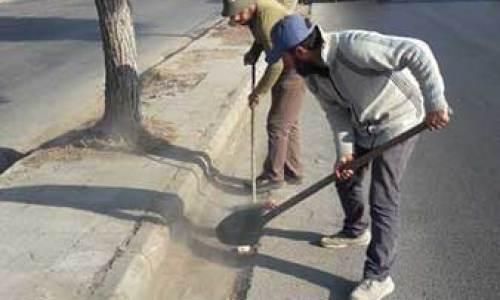 آخر أعمال مديرية الأشغال دائرة الصيانة