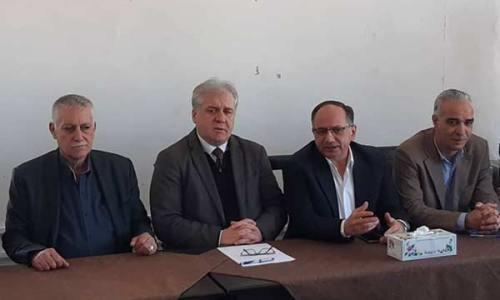 لقاء السيد محافظ حمص و رئيس مجلس مدينة حمص مع رؤوساء  لجان الأحياء