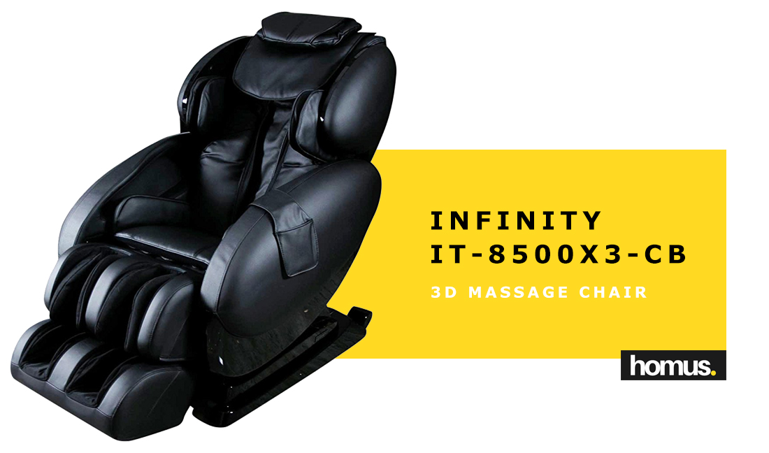 Infinity IT-8500X3-CB 3D Massage Chair