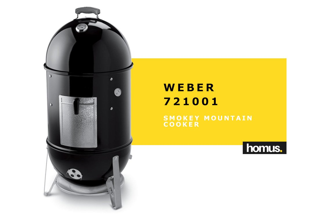 Weber 721001 Smokey Mountain Cooker