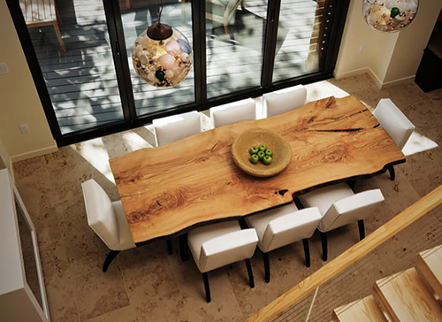A Live Edge Wood Slabs Is A One Of A Kind Accessory That Can Add Visual And  Textural Interest To Almost Any Home Décor U2013 From Modern, Contemporary Or  ...