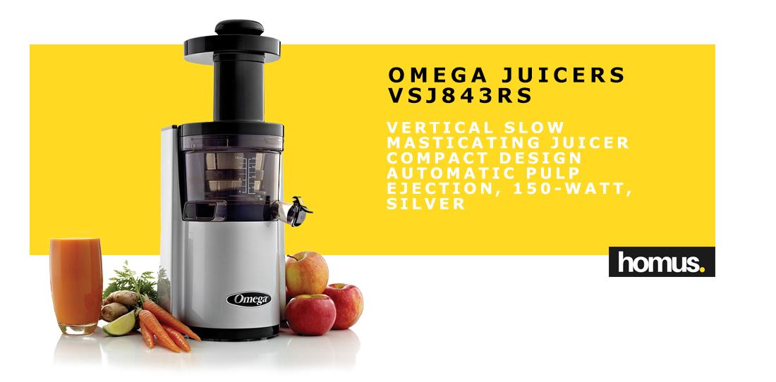 OMEGA Juicers VSJ843RS