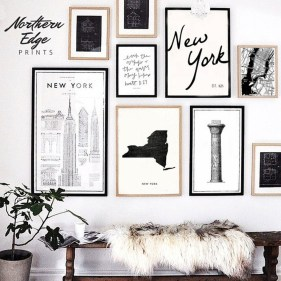 Awesome Gallery Wall Design Ideas 03