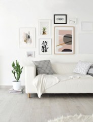 Awesome Gallery Wall Design Ideas 11