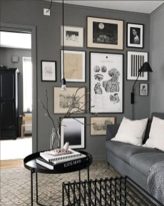 Awesome Gallery Wall Design Ideas 21