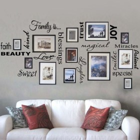 Awesome Gallery Wall Design Ideas 28