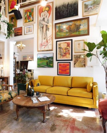 Awesome Gallery Wall Design Ideas 42