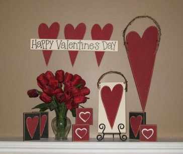 Beautiful Valentine Wall Decor And Color Ideas 01