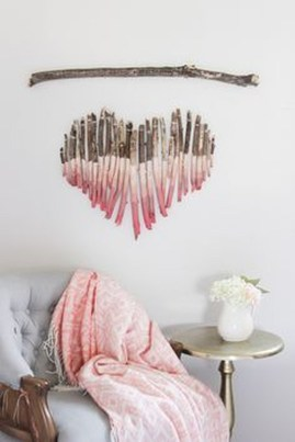 Beautiful Valentine Wall Decor And Color Ideas 19