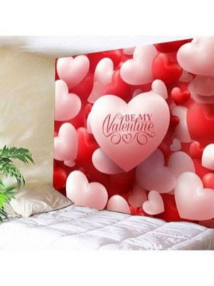 Beautiful Valentine Wall Decor And Color Ideas 21