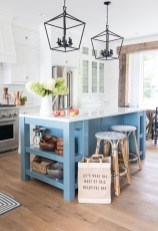 Inspiring Blue And White Kitchen Color Ideas 02