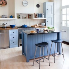 Inspiring Blue And White Kitchen Color Ideas 03