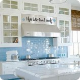 Inspiring Blue And White Kitchen Color Ideas 10