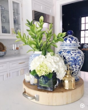 Inspiring Blue And White Kitchen Color Ideas 42