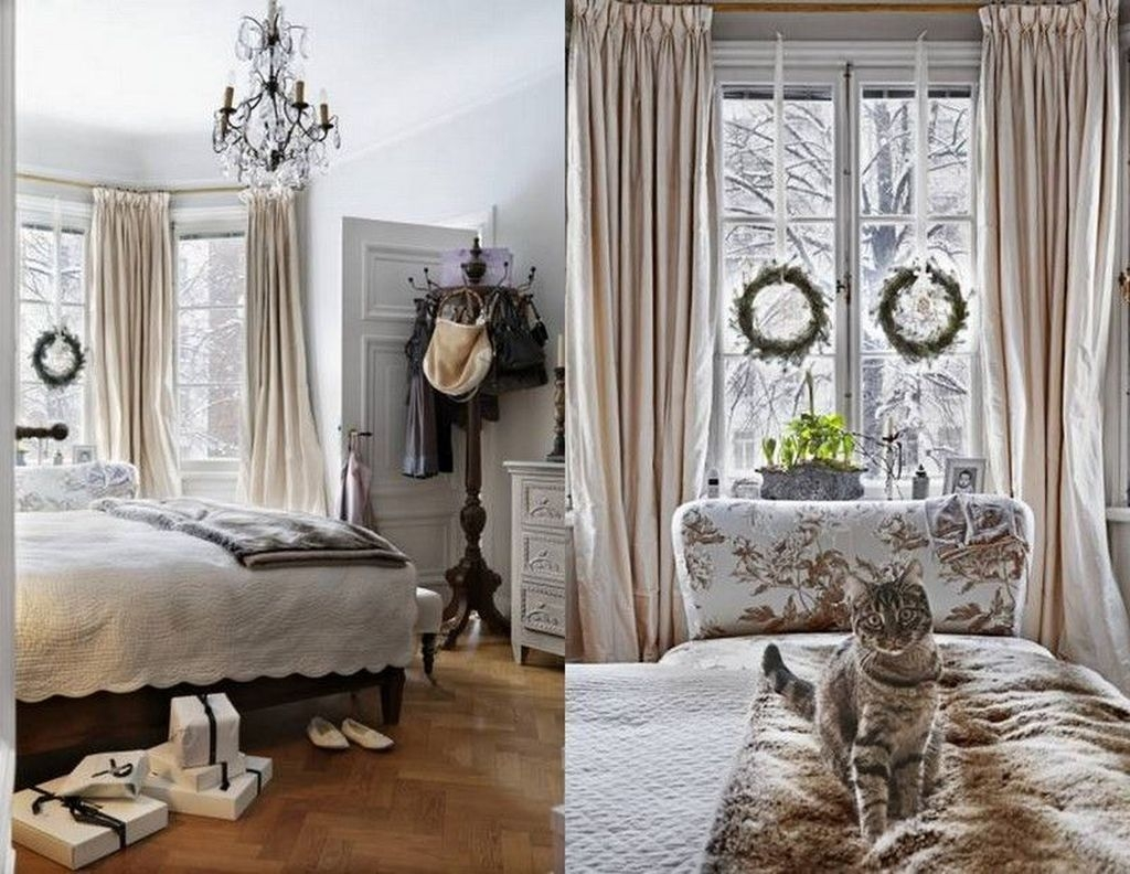 Lovely Winter Master Bedroom Decorations 02