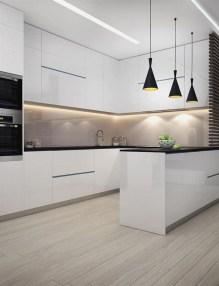 Stunning White Kitchen Design Ideas 33