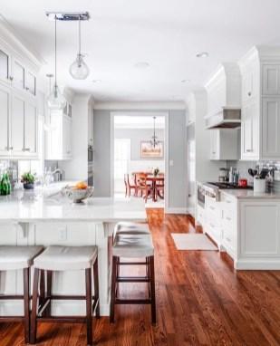 Stunning White Kitchen Design Ideas 46