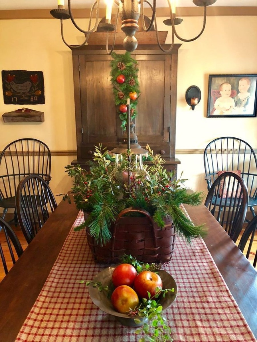 Winter Dining Room Decoration Ideas On Your Table 02
