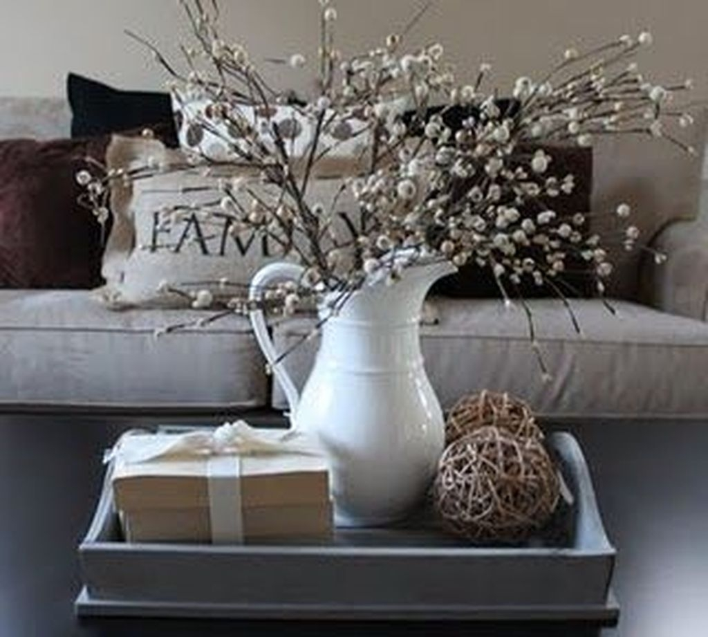 Winter Dining Room Decoration Ideas On Your Table 13