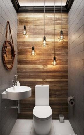 Affordable Farmhouse Bathroom Design Ideas 24