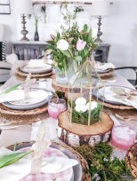Amazing Bright And Colorful Easter Table Decoration Ideas 07