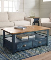 Awesome Wooden Coffee Table Design Ideas 11