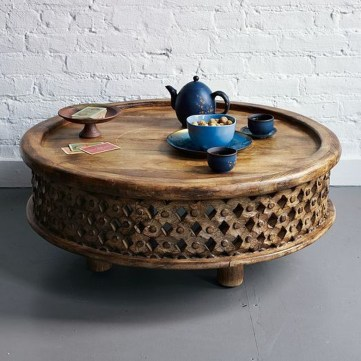Awesome Wooden Coffee Table Design Ideas 39